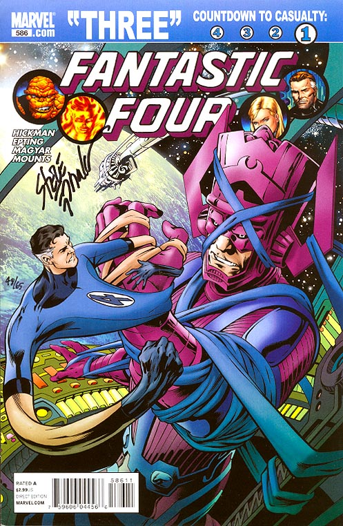 Fantastic Four 586 (DF Signed By Epting 1 of 65 )