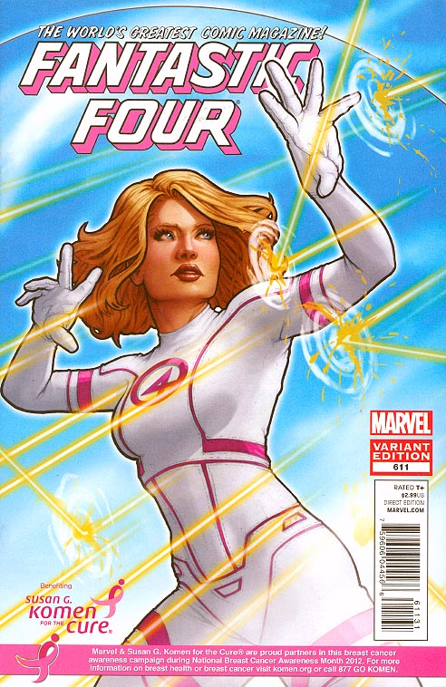 Fantastic Four 611 (Limited Komen John Tyler Christopher Variant)