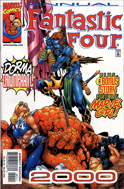 Fantastic Four Annual 2000