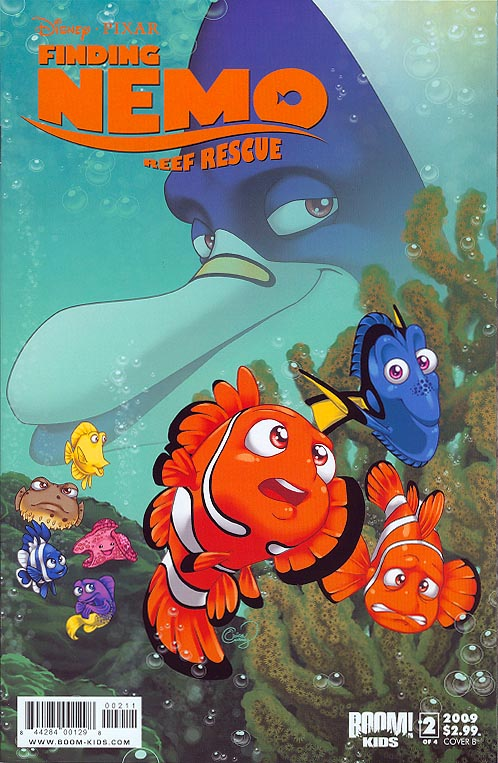 Finding Nemo Reef Rescue 2 B (of 4 )