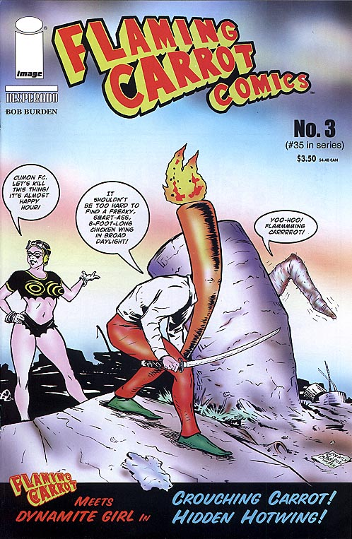 Flaming Carrot Comics (Image) 3