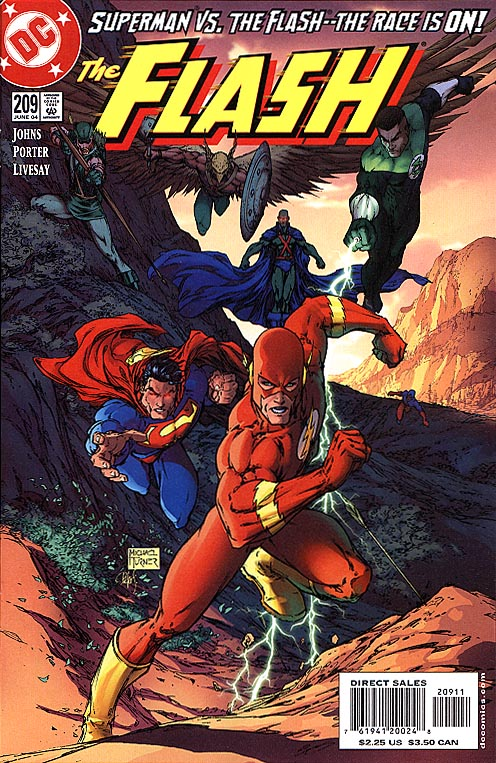 Flash vol 2 - 209 (Michael Turner Cvr)