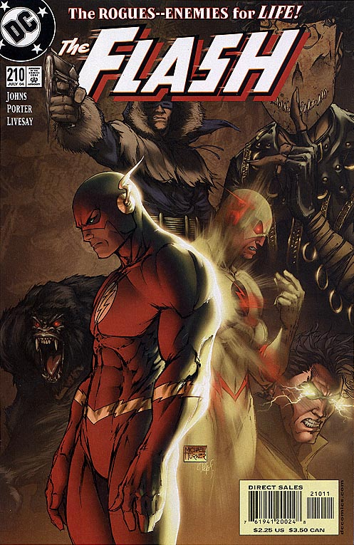 Flash vol 2 - 210 (Michael Turner Cvr)