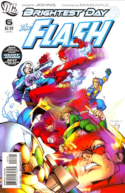 Flash vol 3 - 6 ( 1 in 10 Incentive Garza Variant)