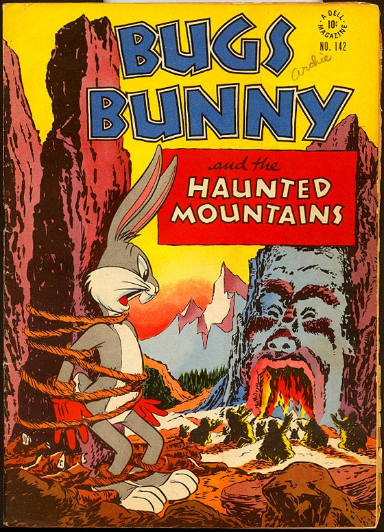 Four Color Comics (Dell) 142 Bugs Bunny and the Haunted Mountains