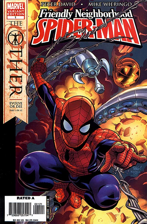 Friendly Neighborhood Spider-Man 1 Variant Edition