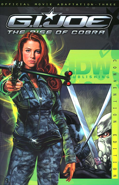 GI Joe Rise Of The Cobra Movie Adaptation 4 (Convention Exclusive Scarlett Variant)