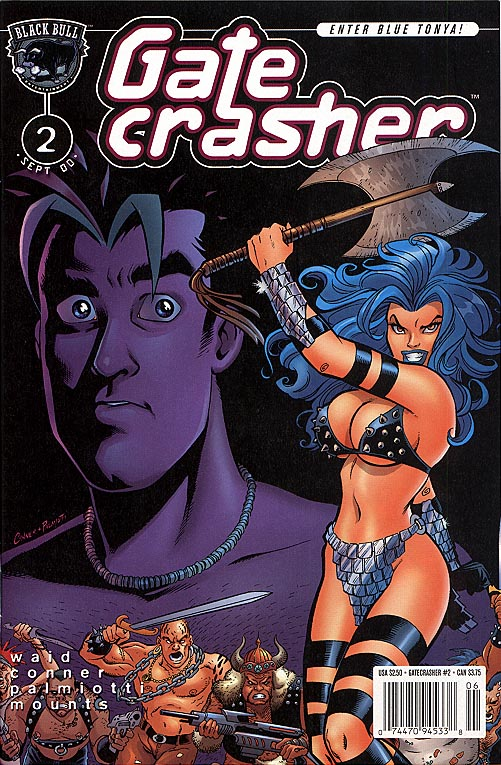 Gate Crasher (regular series) 2 (Conner cvr)