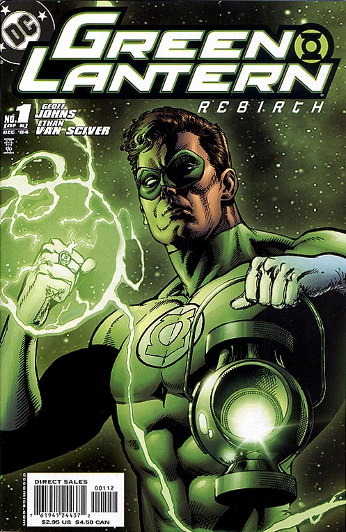 Green Lantern Rebirth 1 (of 6 ) (Second Printing)