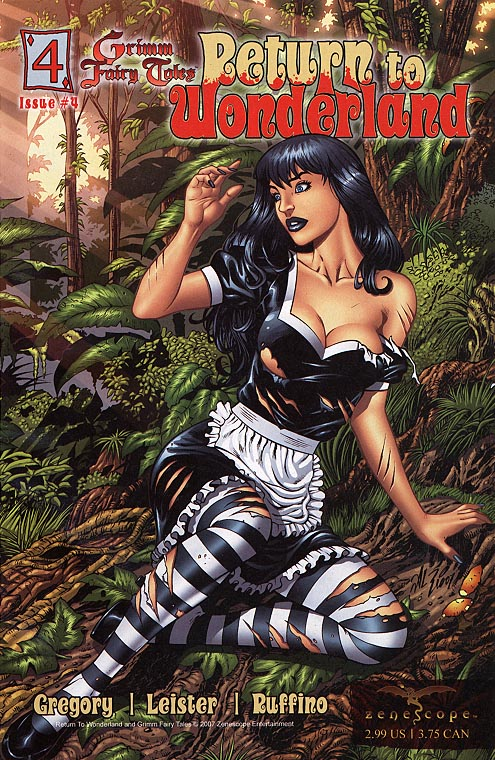 Grimm Fairy Tales Return To Wonderland 4 B (Al Rio Cvr)