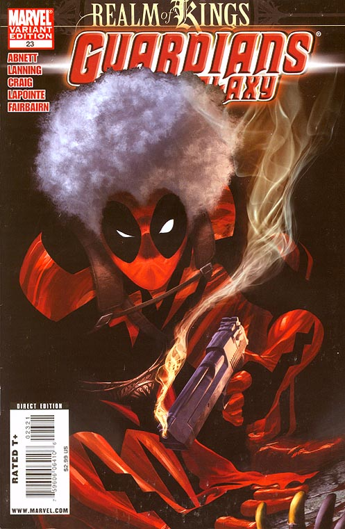 Guardians of the Galaxy vol 2 - 23 ( 1 in 15 Deadpool Variant)