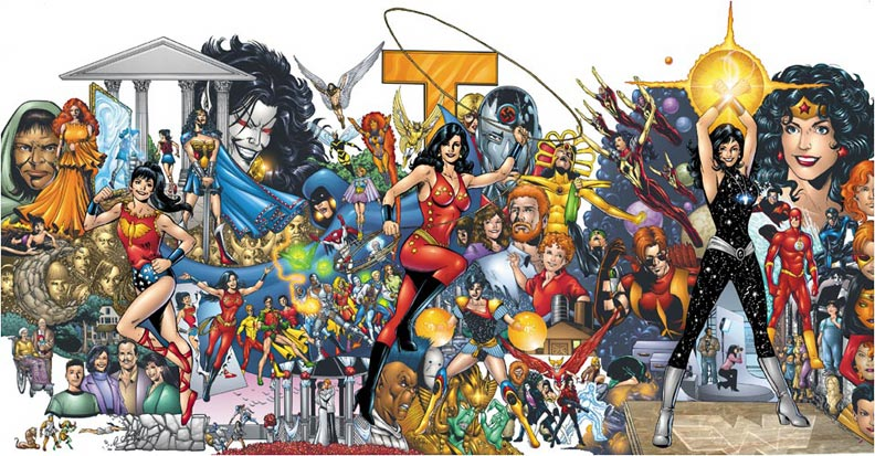Donna Troy Titans Poster 55 x 28