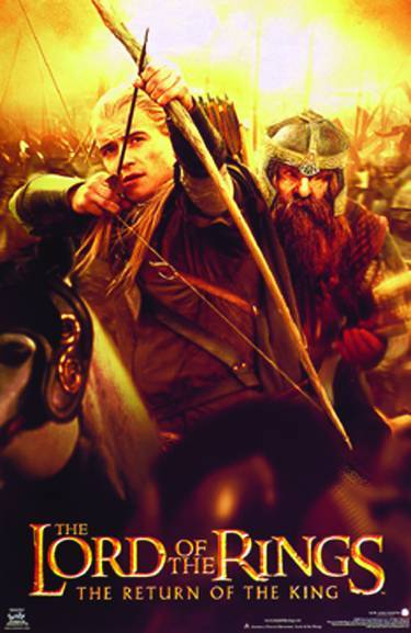 Poster Lord Of The Rings Return Of The King Poster Pr 2003