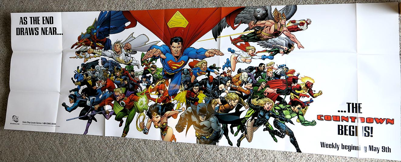 P 084 DC Comics Countdown huge poster