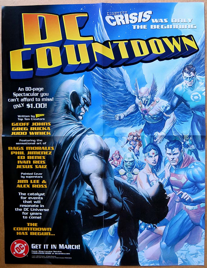 P 116 DC Countdown Poster ( 2005 )