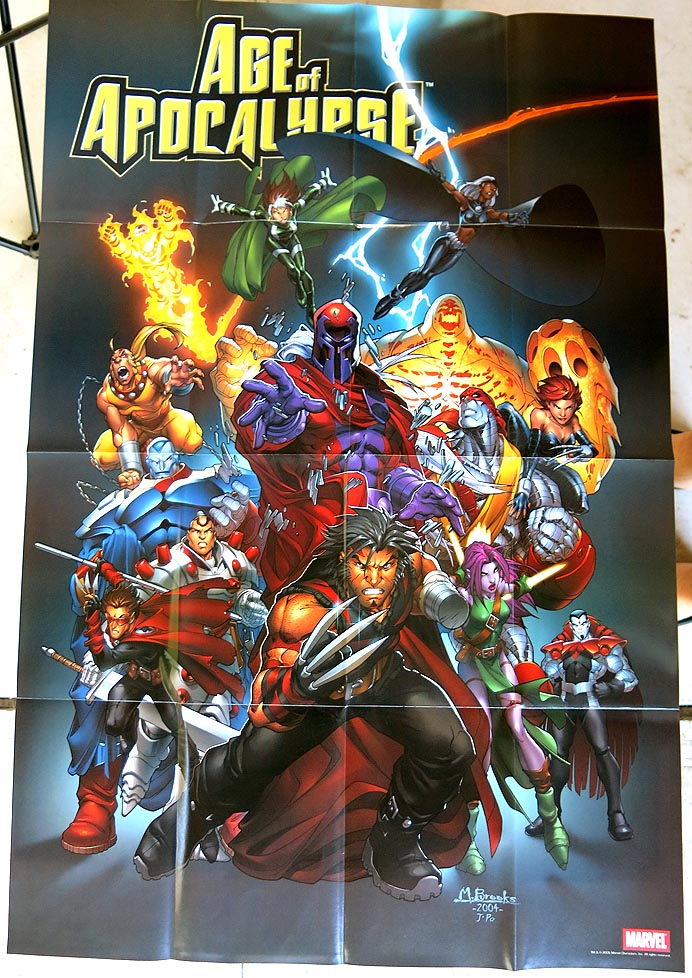 P 118 Age Of Apocalypse Poster ( 2005 M Brooks)