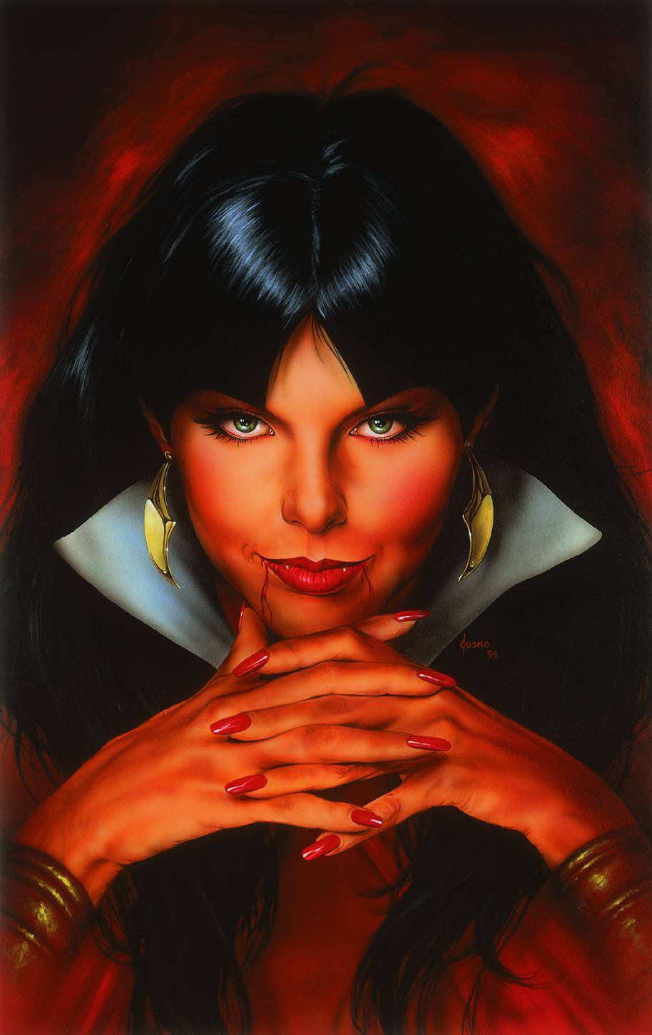 Vampirella Sad Wings Of Destiny Poster H 24 -W 20 By Joe Jusko