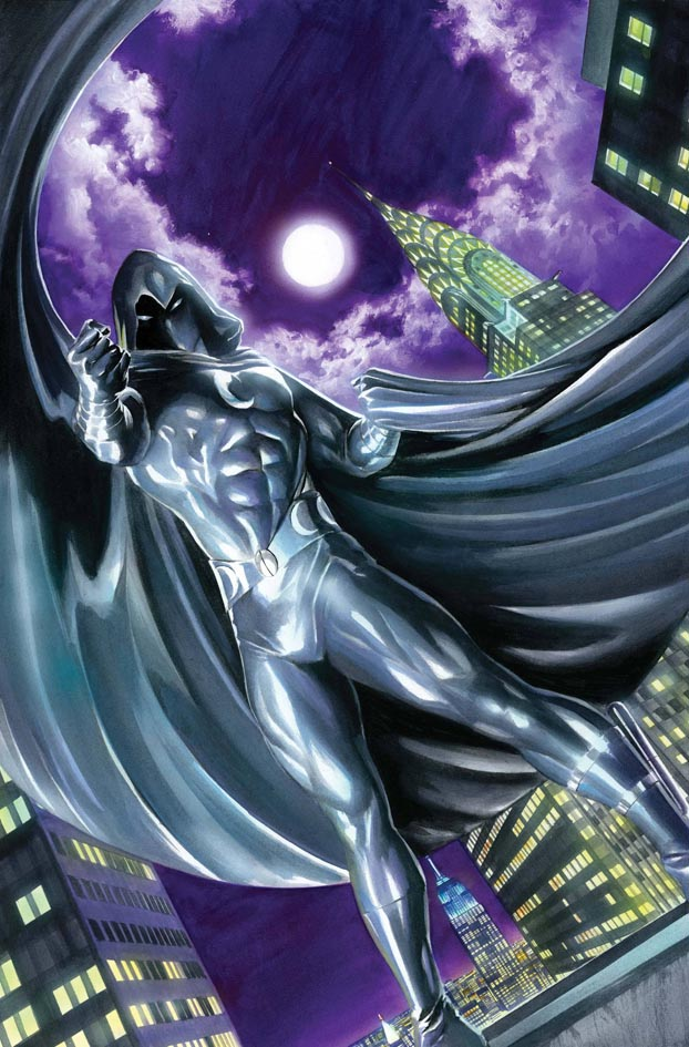 Vengeance Of Moon Knight By Alex Ross Poster