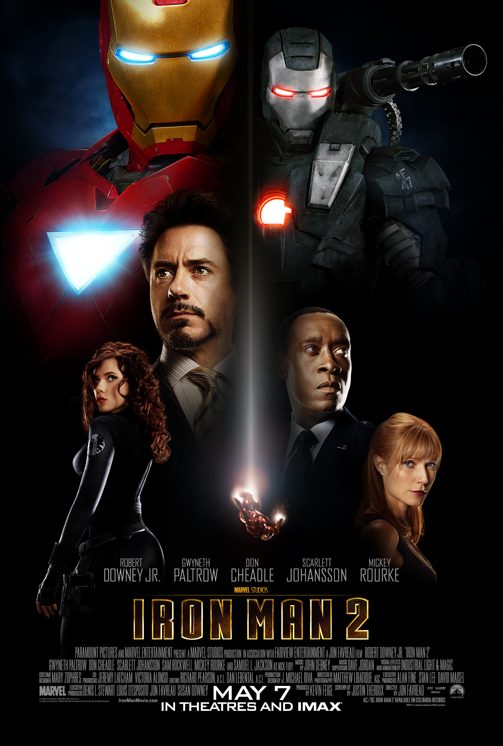 iron man 2 final movie poster