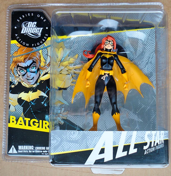 DC Direct All Star Action Figures Series 1 Batgirl Action Figure