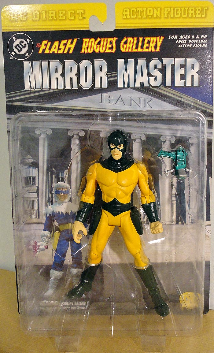 DC Direct Flash Rogues Gallery Mirror Master Action Figure