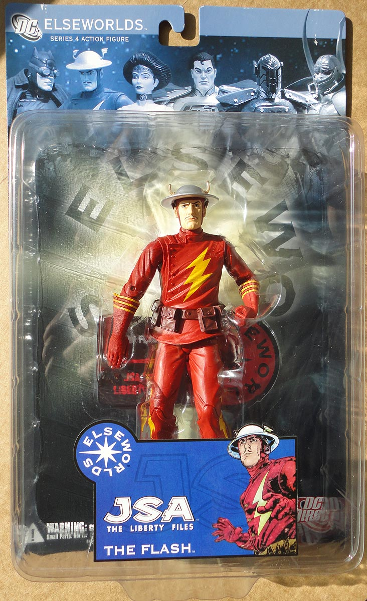 DC Elseworlds Series 4 JSA The Liberty Files Flash
