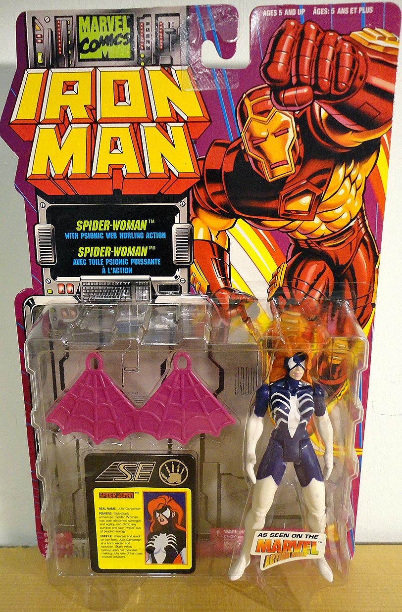 Iron Man Spide r Woman Action Figure