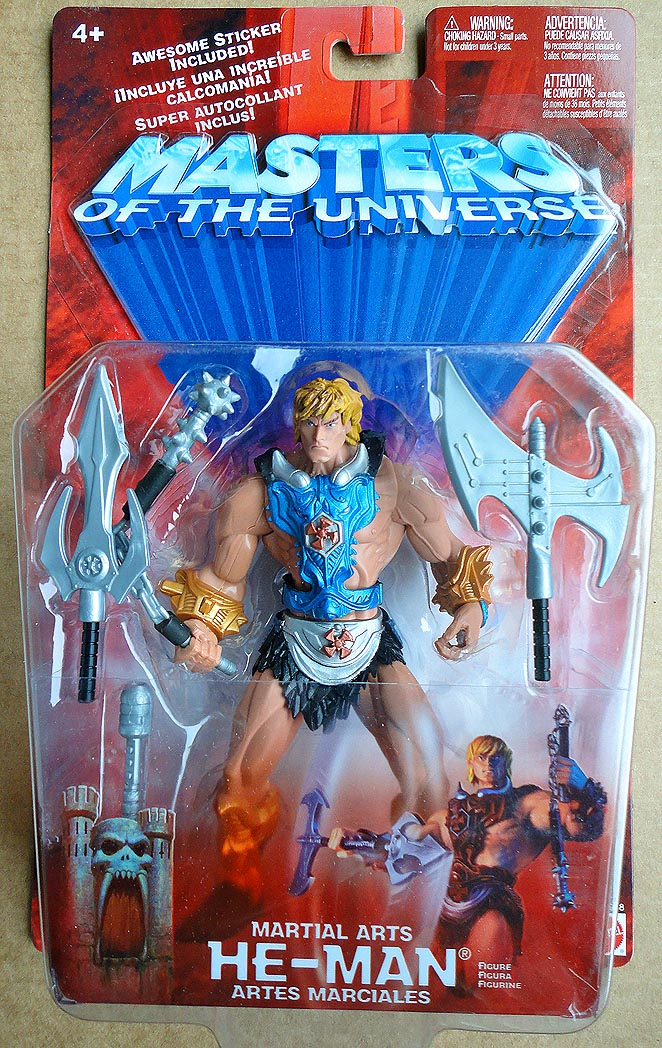 Masters Of The Universe 2002 Martial Arts He-Man