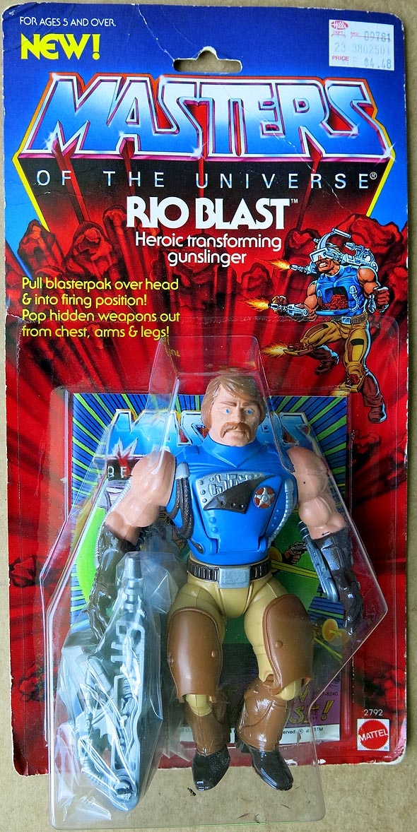 Masters Of The Universe Rio Blast MOC