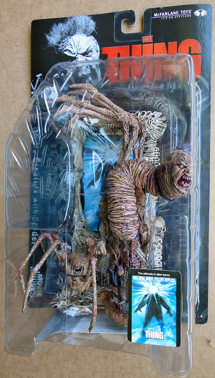 Movie Maniacs 3 The Thing Norris Creature With Spider