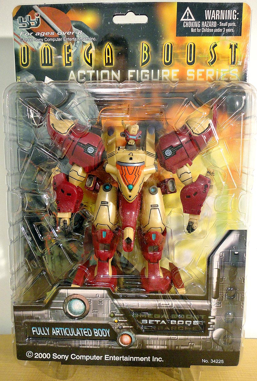 action-figure Omega Boost Action Figures MC 2013