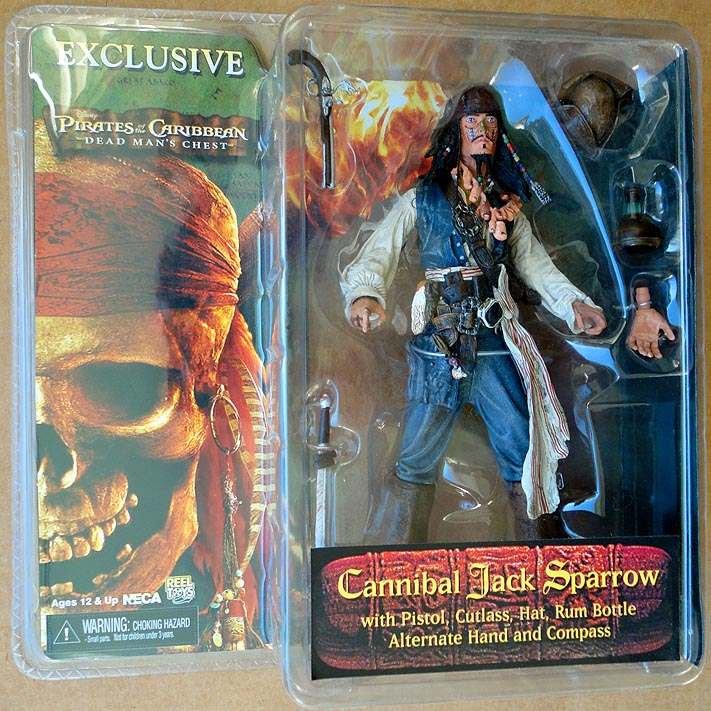 Pirates Of The Caribbean Exclusive Cannibal Jack Sparrow