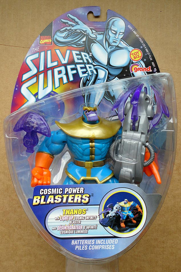 Silver Surfer Cosmic Power Blasters Thanos
