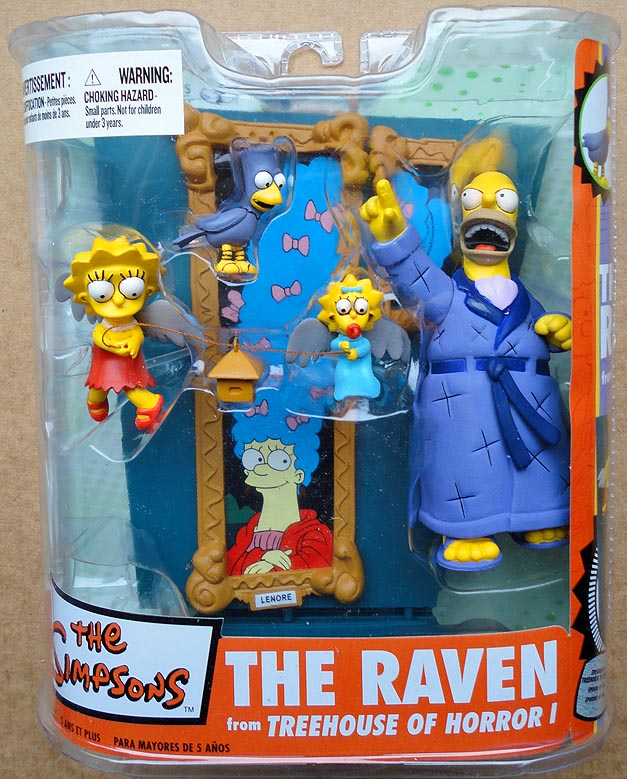 Simpsons Ultra Action Figures Series 2 The Raven