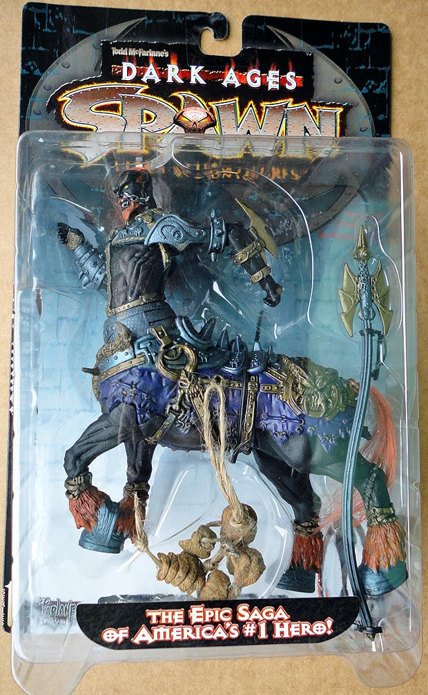 Spawn (Series 11 ) The Dark Ages Series 1 The Raider ( 1 st Edition)