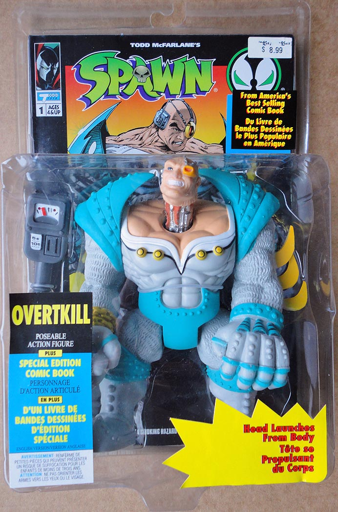 Spawn Series 1 Overtkill ( 2 nd Edition)