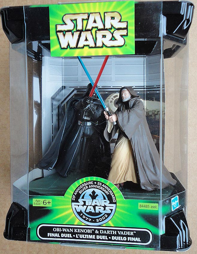 Star Wars 25 th Anniv Kenob&Vader Final Duel