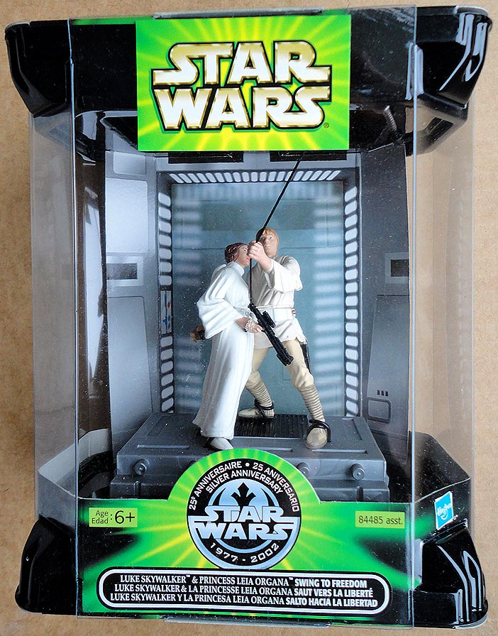 Star Wars 25 th Anniv Luke&Leia Swing To Freedom