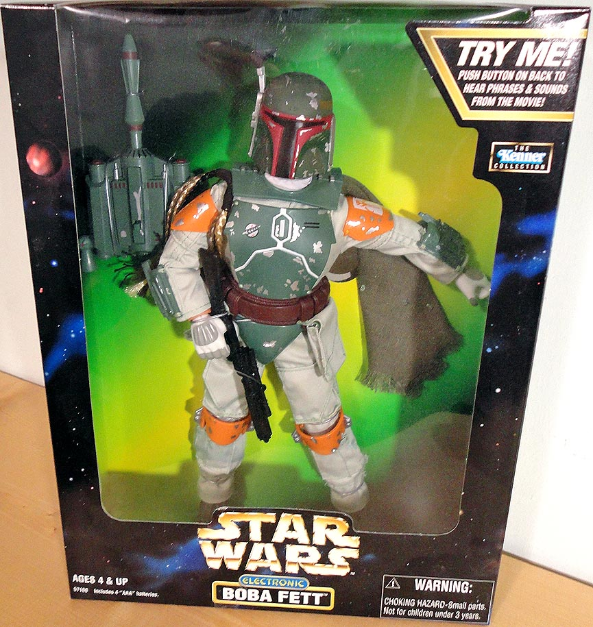 Star Wars Action Coll Electronic Boba Fett