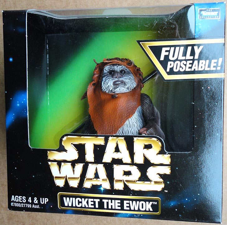 Star Wars Action Collection Boxed Wicket The Ewok