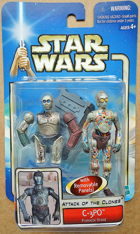 Star Wars Attack Of The Clones Collection 1 C- 3 PO