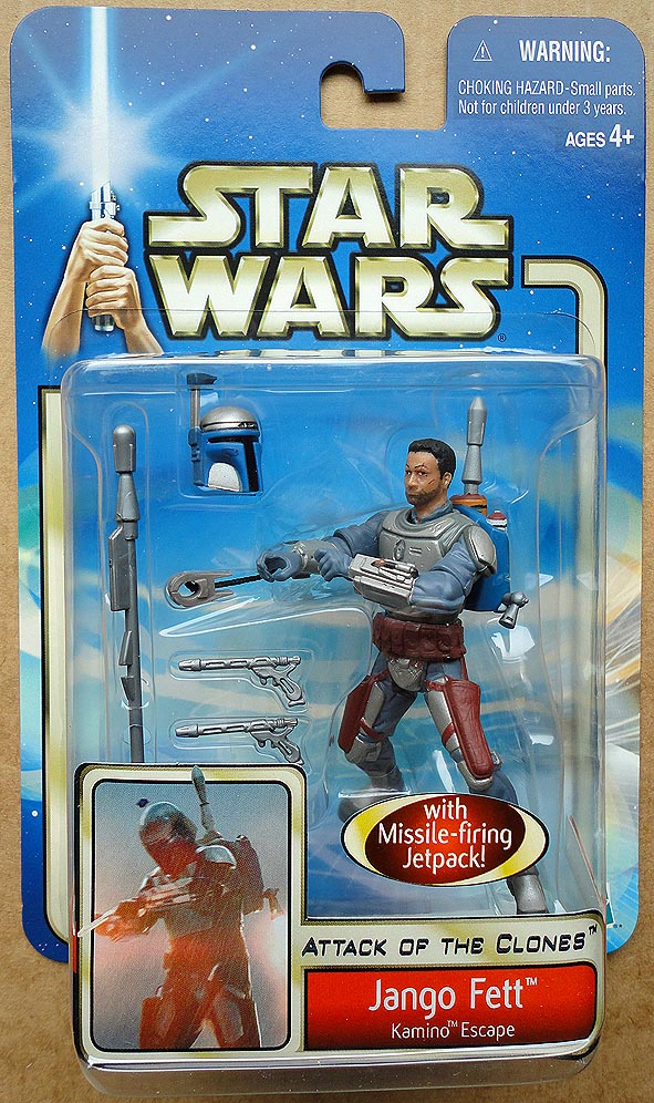 Star Wars Attack Of The Clones Collection 1 Jango Fett Kamino Escape