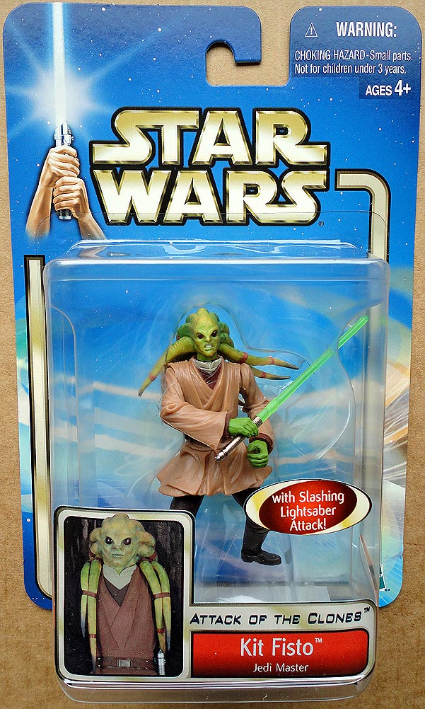 Star Wars Attack Of The Clones Collection 1 Kit Fisto Jedi Master