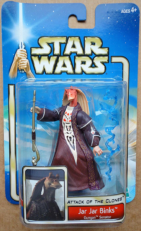 Star Wars Attack Of The Clones Collection 2 Jar Jar Binks