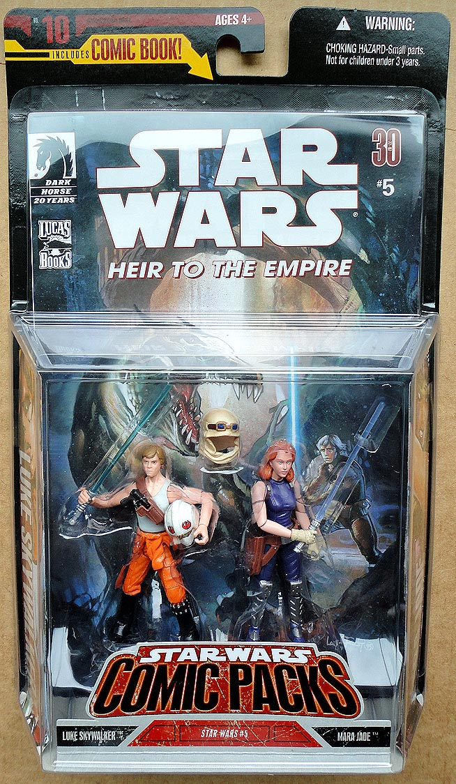Star Wars Comic Packs Luke Skywalker&Mara Jade