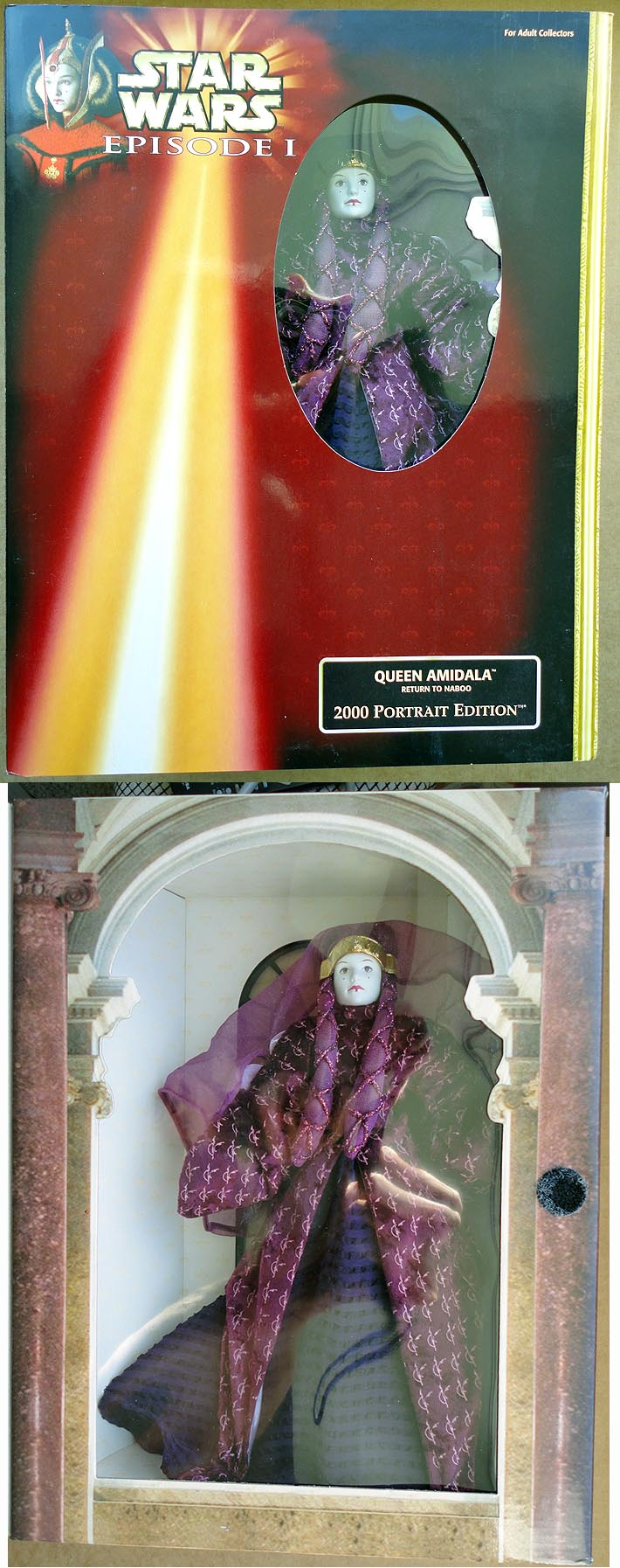 Star Wars Ep 1 - 2000 Portrait Ed Queen Amidala Return To Naboo