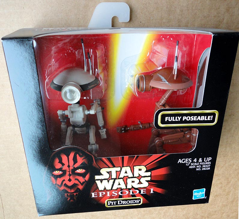 Star Wars Episode 1 Action Collection Boxed Pit Droids