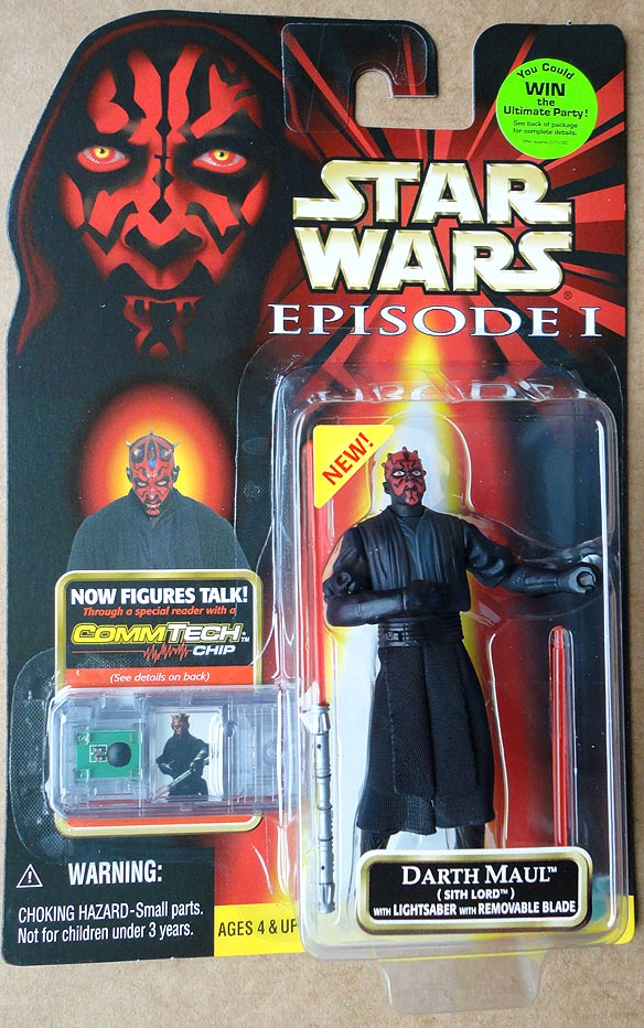 Star Wars Episode 1 Comm Tech Collection 1 Darth Maul Sith Lord