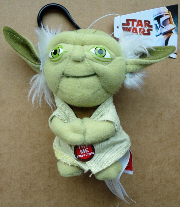 Star Wars Mini Plush Yoda