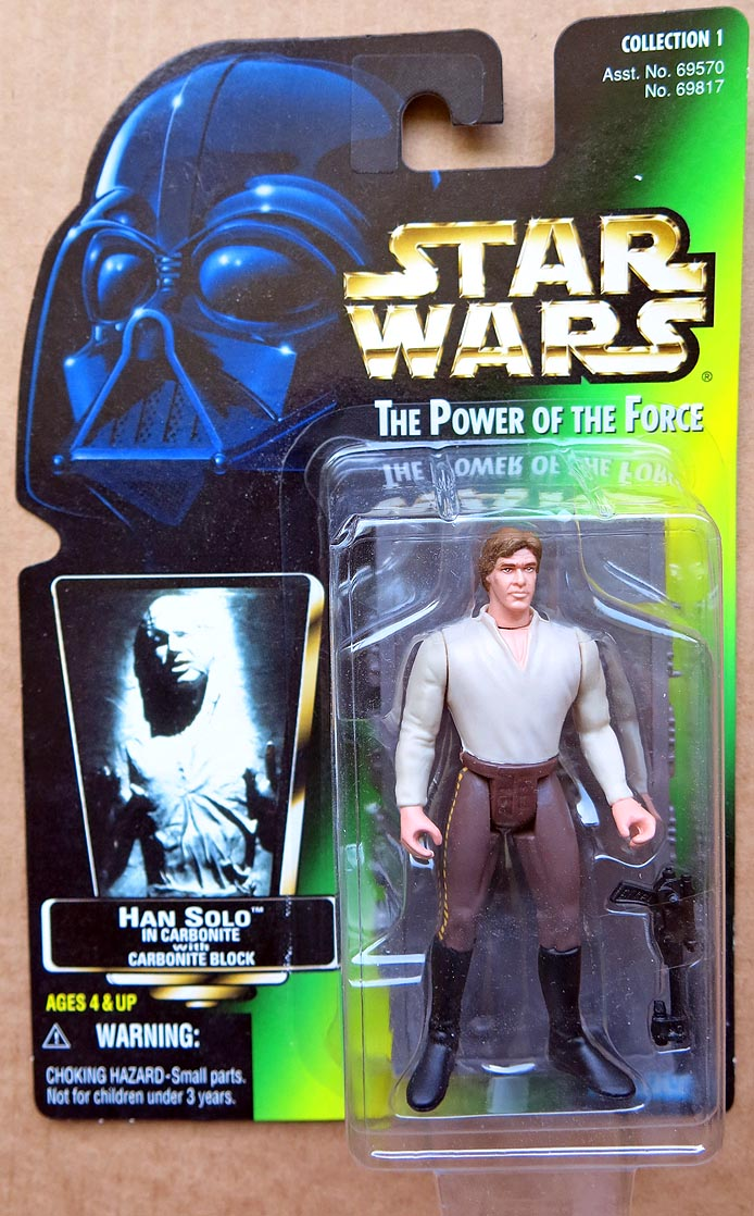 Star Wars POTFCollection 1 Han Solo In Carbonite
